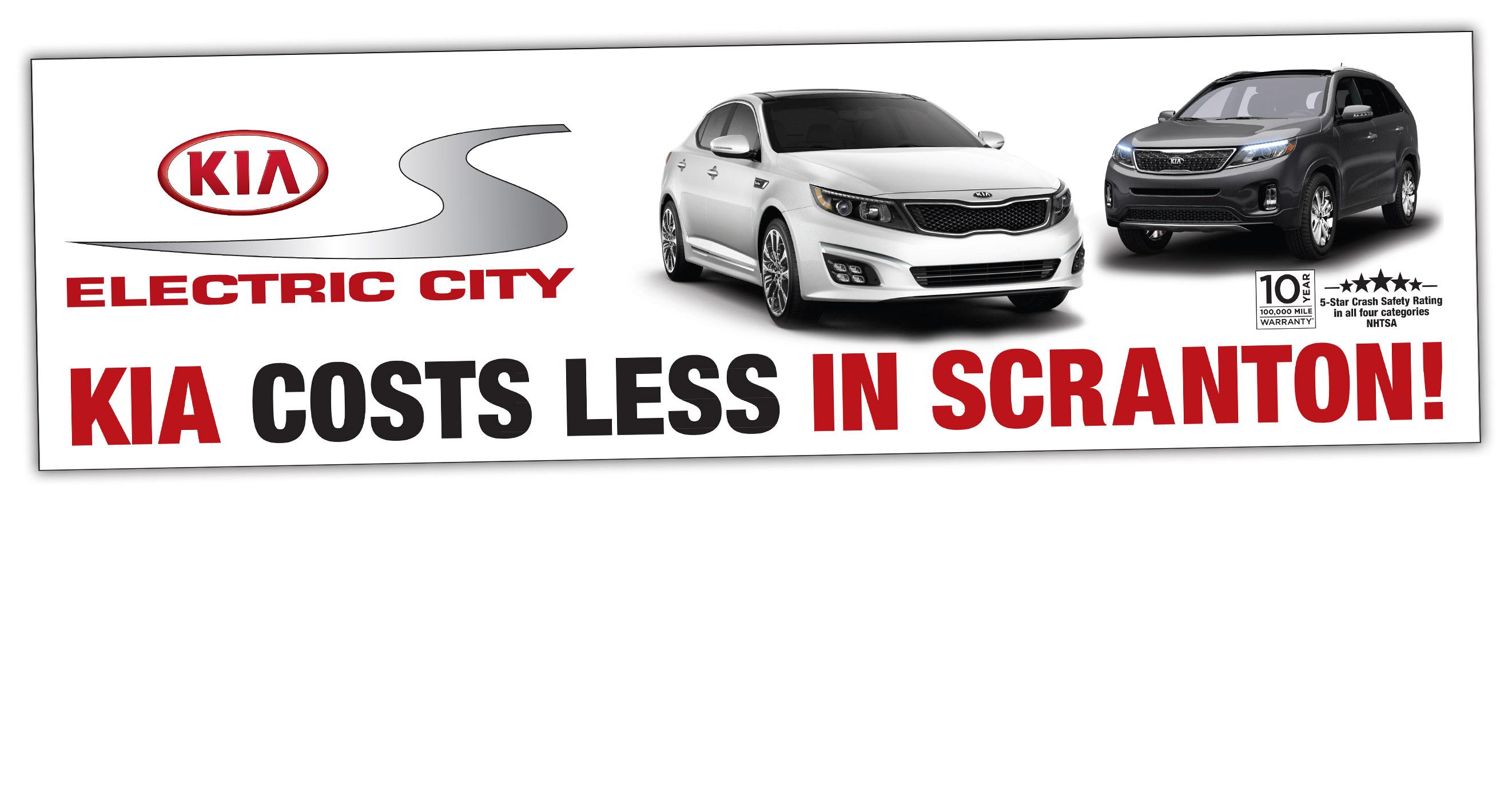 Scranton Car Dealer Billboard
