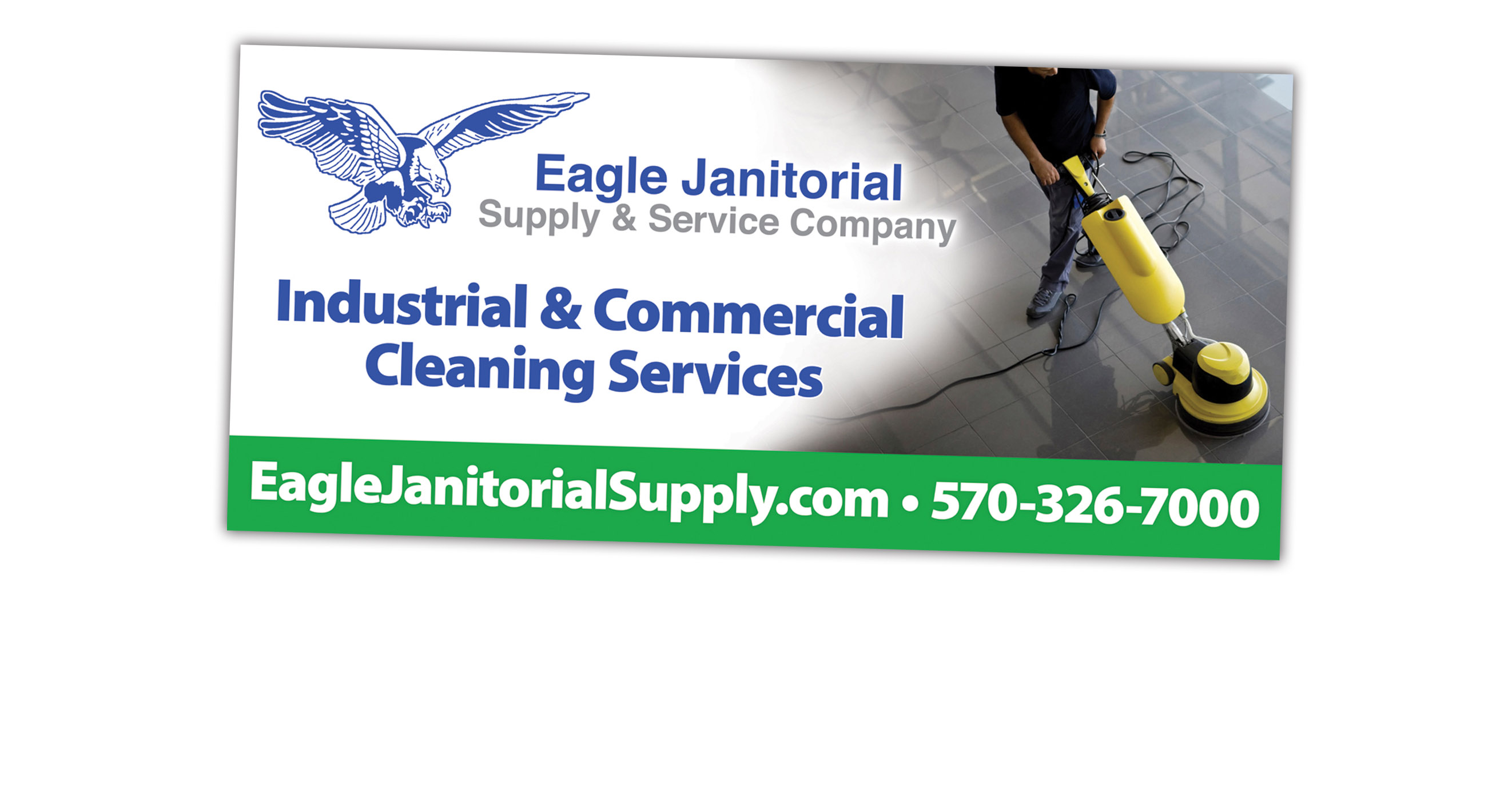 Eagle Janitorial Billboard