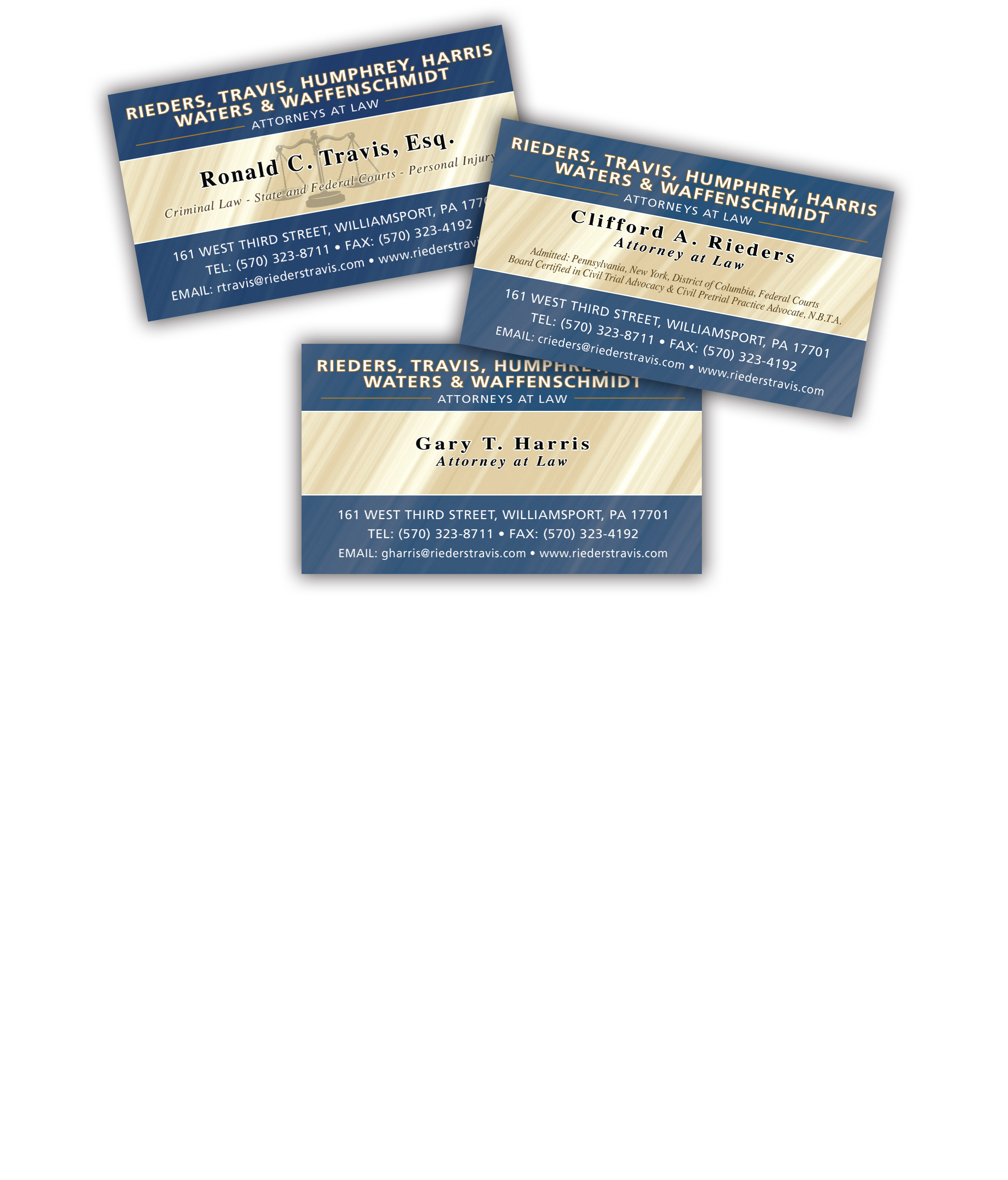Law Firm Business Cards