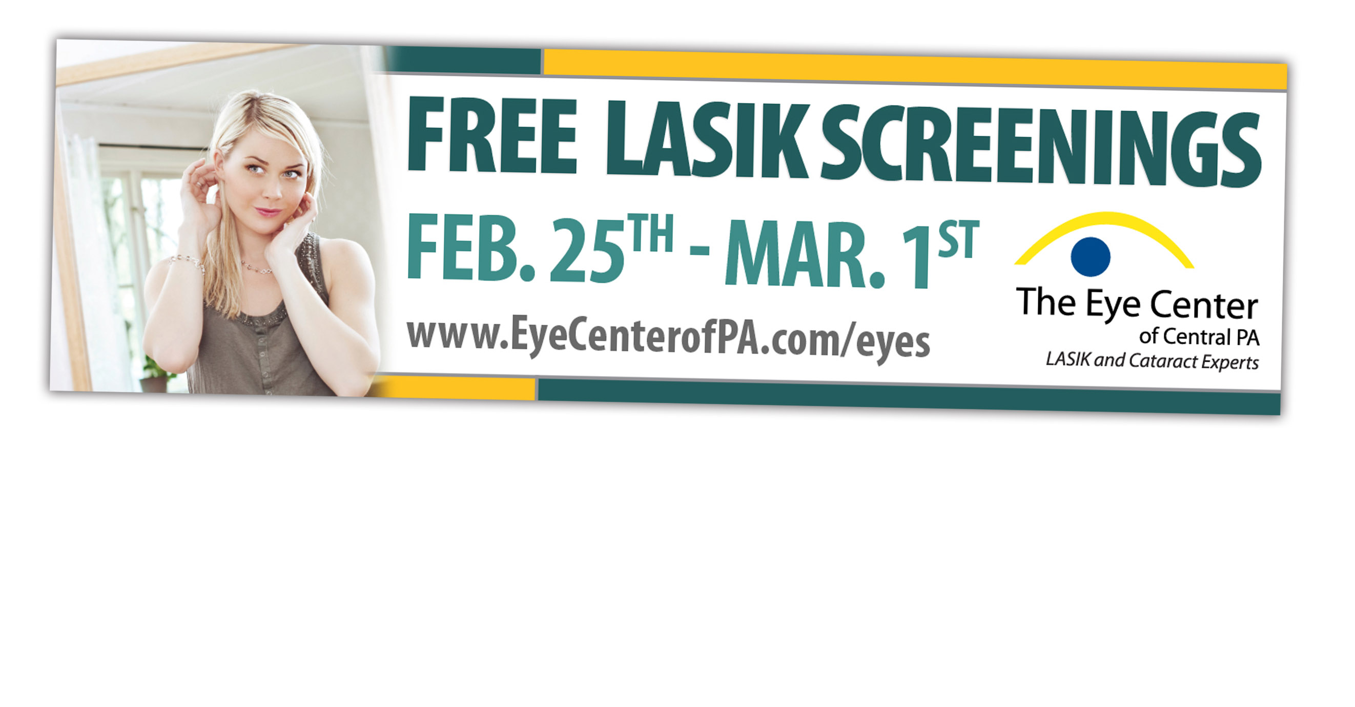 Medical Eye Billboard