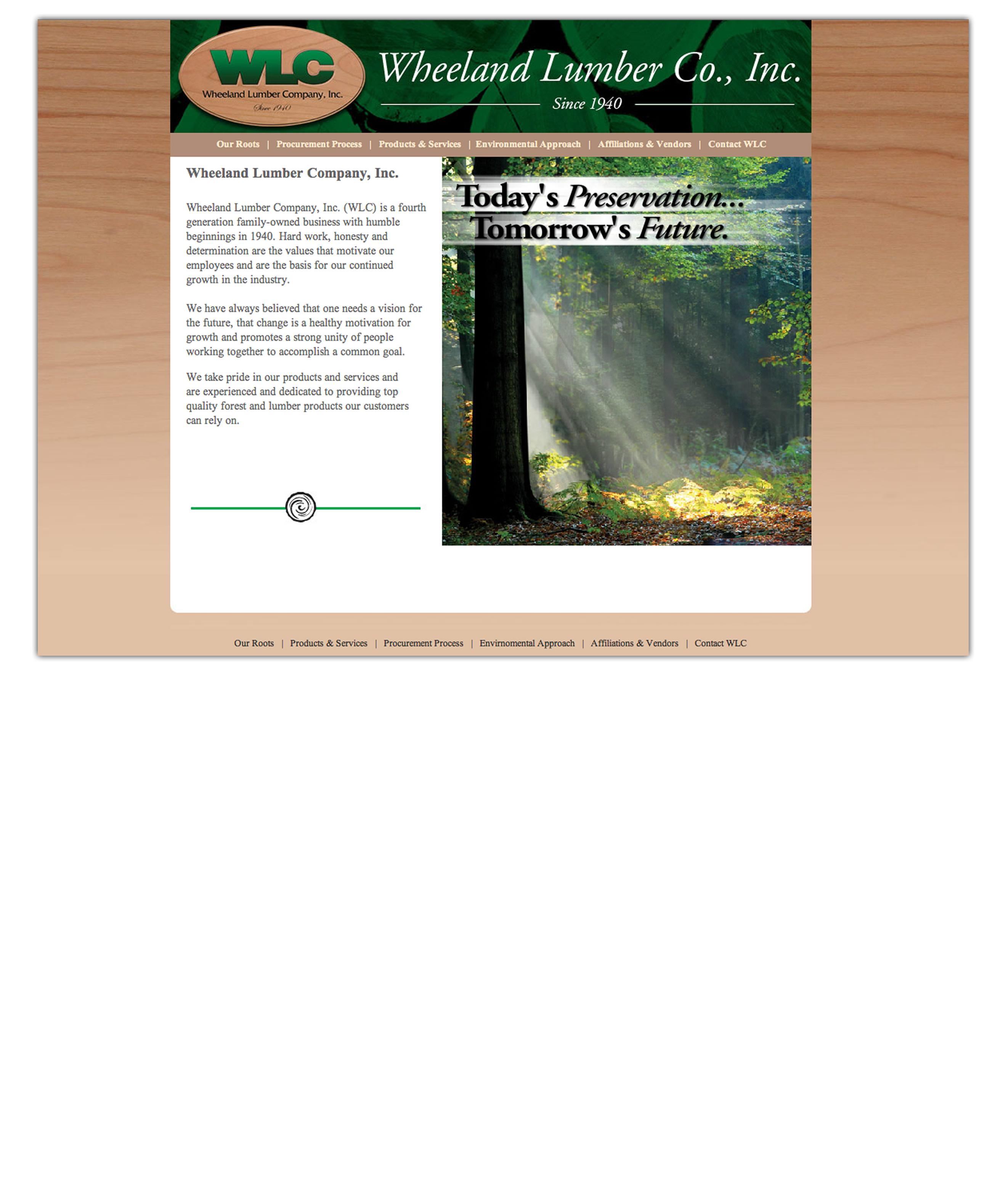 Lumber Company Web Development