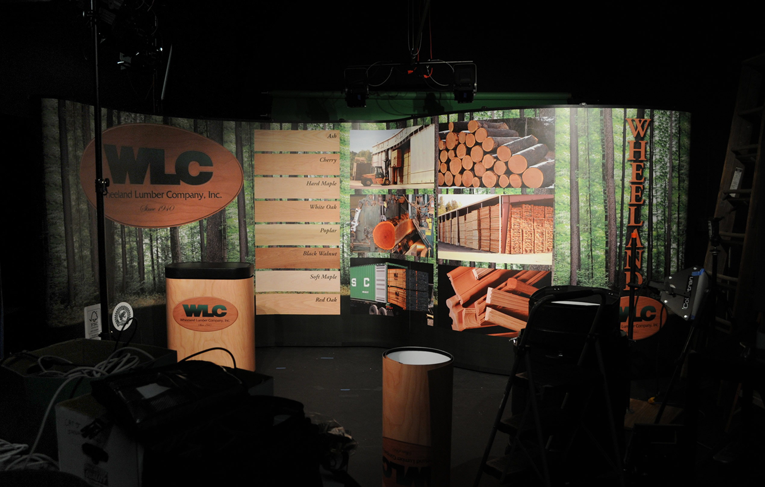 Lumber Company Trade Show Booth