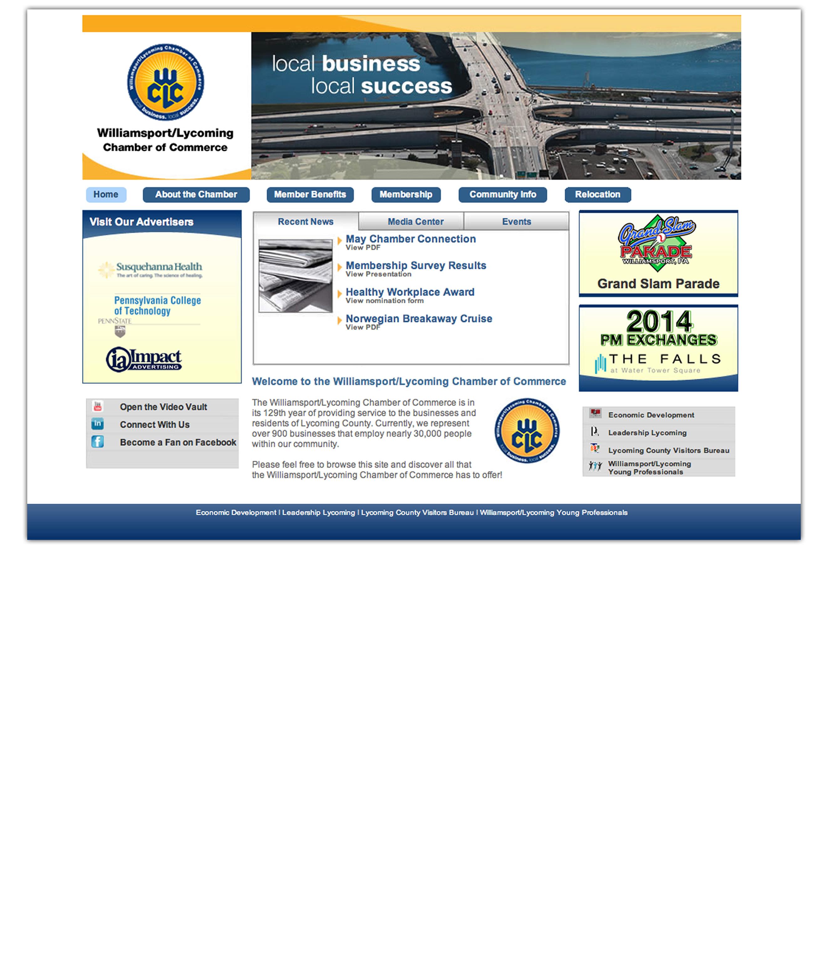 Chamber Of Commerce Web Development