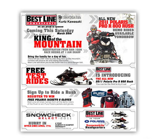 Snowmobile Email King of the Mountain