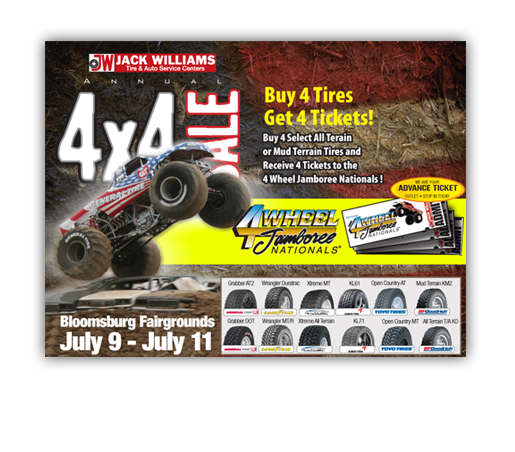 Jack Williams 4 Wheel Jamboree Email