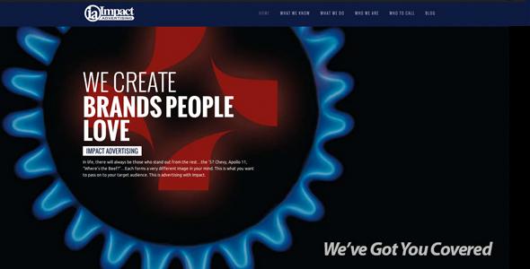 Impact Advertising New Website
